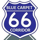 Blue Carpet Corridor
